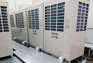 空調設備工事のイメージ